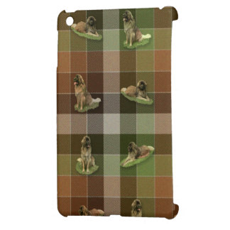Leonberger Tartan iPad Mini Case