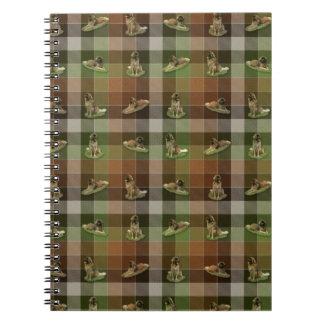 Leonberger Tartan Notebook
