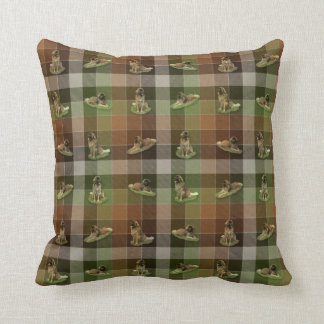 Leonberger Tartan - Pillow