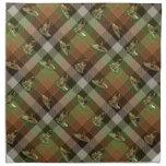 Leonberger Tartan Printed Napkin