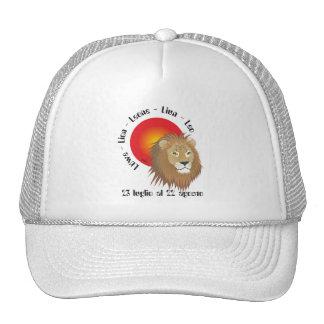 Leone 23 al 22 Cappello luglio agosto Gorro
