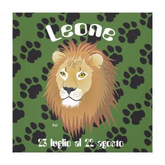 Leone 23 al 22 Stampa luglio agosto su tela Impresión En Lona