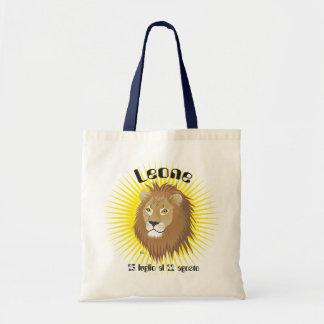 Leone 23 peeping Lio Al 22 agosto Borse Tote Bag