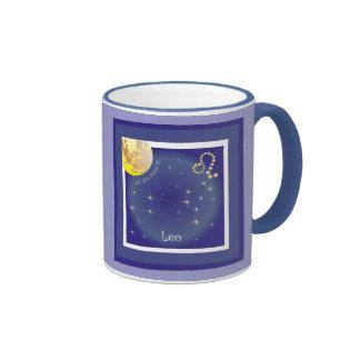 Leone 23 peeping Lio Al 22 agosto cup Ringer Coffee Mug
