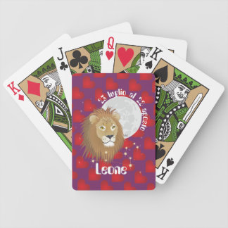 Leone 23 peeping Lio Al 22 agosto Giochi di carte Bicycle Playing Cards