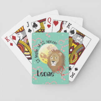 Leone 23 peeping Lio Al 22 agosto Giochi di carte Playing Cards