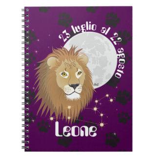 Leone 23 peeping Lio Al 22 agosto Taccuino Notebooks