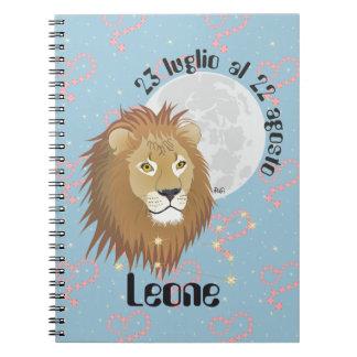 Leone 23 peeping Lio Al 22 agosto Taccuino Note Books