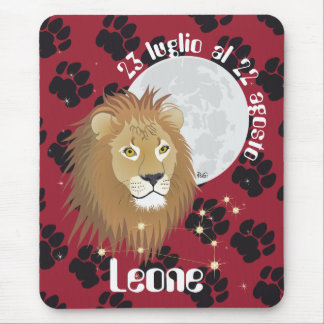 Leone 23 peeping Lio Al 22 agosto Tappetini by Mouse Pad