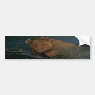 leone car bumper sticker