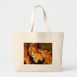 Leones en amor bolsa
