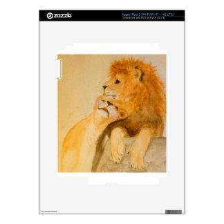 Leones en el amor #1.jpg pegatina skin para iPad 3