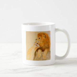 Leones en el amor #1.jpg taza de café