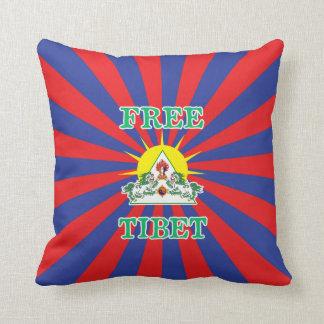 Leones libres de la nieve de Tíbet y símbolo de Cojines