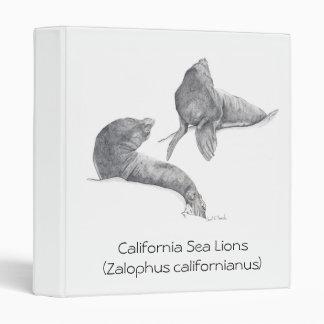 """Leones marinos de California Carpeta 1"""""""