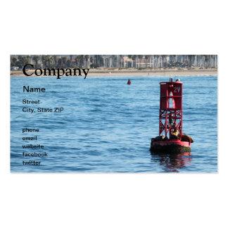 Leones marinos de la boya tarjetas personales