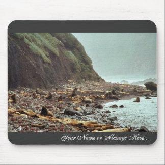 Leones marinos de Steller en Haulout Mousepad