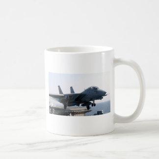 LEONES NEGROS FAMOSOS DE F-14D VF-213 TAZA DE CAFÉ