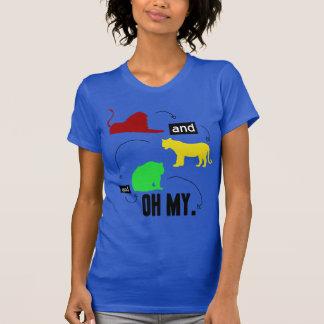 leones y tigres y osos OH MIS Camisetas