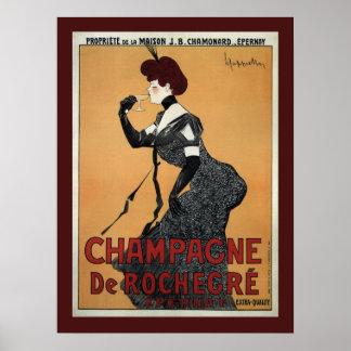 ~ Leonetto Cappiello 1902 de Champán De Rochegre Posters