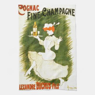 Leonetto Cappiello Champagne French illustration Hand Towel