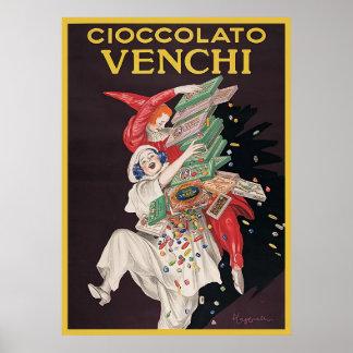 Leonetto Cappiello Cioccolato Venchi Impresiones