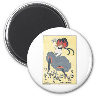 Leonetto Cappiello - Le Frou-Frou 1899 2 Inch Round Magnet