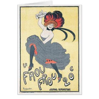 Leonetto Cappiello - Le Frou-Frou 1899 Card