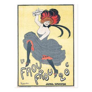 Leonetto Cappiello - Le Frou-Frou 1899 Postcard