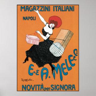 Leonetto Cappiello Magazzini Italiani Impresiones