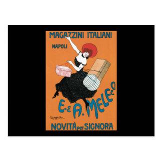 Leonetto Cappiello Magazzini Italiani Postcard