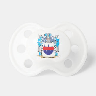 Leonhard Coat of Arms - Family Crest Pacifiers