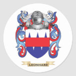 Leonhard Coat of Arms (Family Crest) Sticker