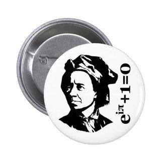 Leonhard Euler Pinback Button