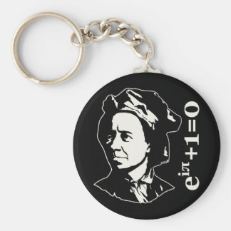 Leonhard Euler Llavero Redondo Tipo Pin