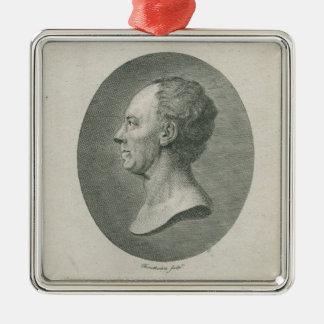 Leonhard Euler Metal Ornament