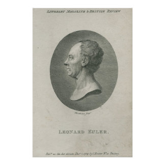 Leonhard Euler Póster
