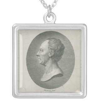 Leonhard Euler Silver Plated Necklace