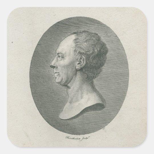 Leonhard Euler Square Sticker