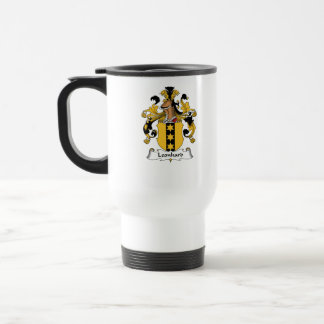 Leonhard Family Crest Travel Mug
