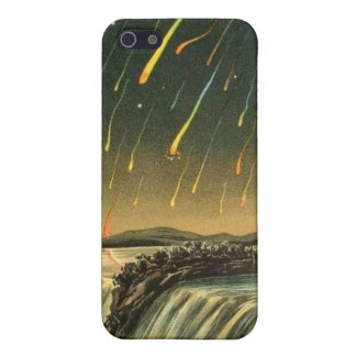 Leonid Meteor Storm Painting from 1883 iPhone SE/5/5s Case