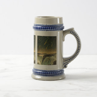 Leonid Meteor Storm Painting from 1883 18 Oz Beer Stein