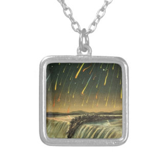 Leonid Meteor Storm Painting from 1883 Pendant