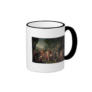 Leonidas at Thermopylae, 480 BC, 1814 Ringer Mug