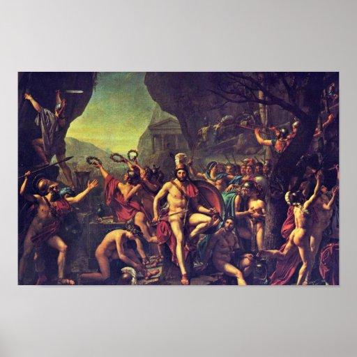 Leonidas At Thermopylae By David Jacques-Louis (Be Poster