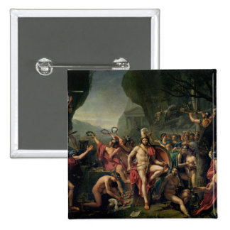 Leonidas en Thermopylae, 480 A.C., 1814 Pins
