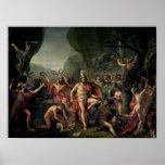 Leonidas en Thermopylae, 480 A.C., 1814 Posters