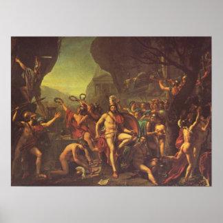 Leonidas en Thermopylae Posters