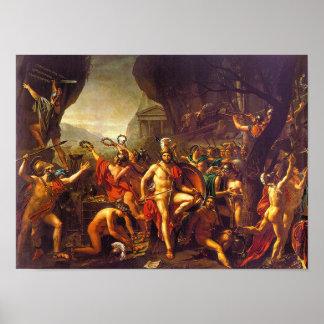 Leonidas en Thermopylae Poster