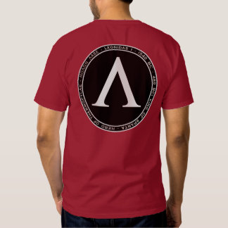 Leonidas I Black & White Seal Shirt